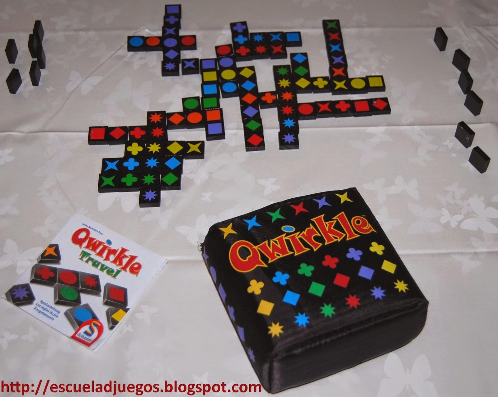 Reseña de Qwirkle Travel, juego de mesa abstracto para hasta 4 jugadores de Schmidt Spiele