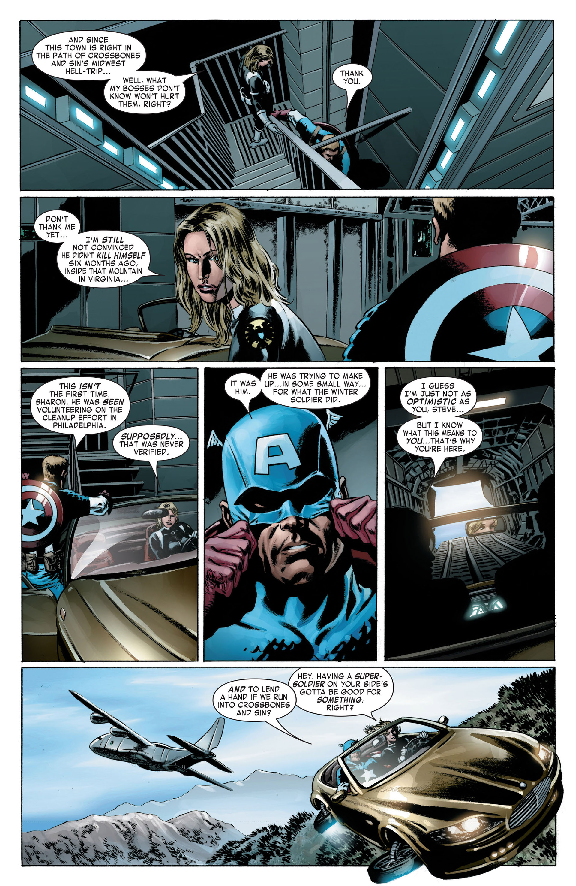 Captain America (2005) Issue #16 #16 - English 8