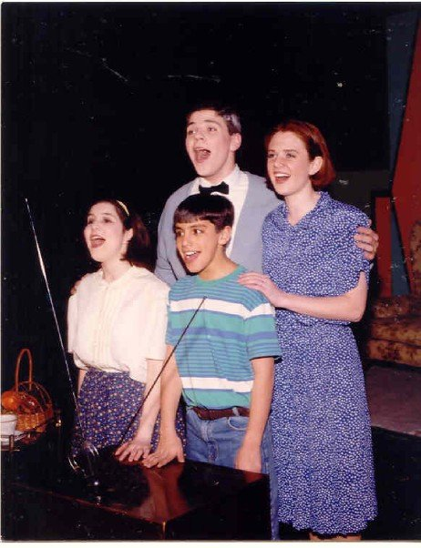 Bye Bye Birdie, Kim MacAfee, Jamie Allison Sanders, high school musical theater, Charles F. Brush High School, #tbt, Throwback Thursday, Ed Sullivan