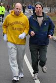 Eric and Mark Running