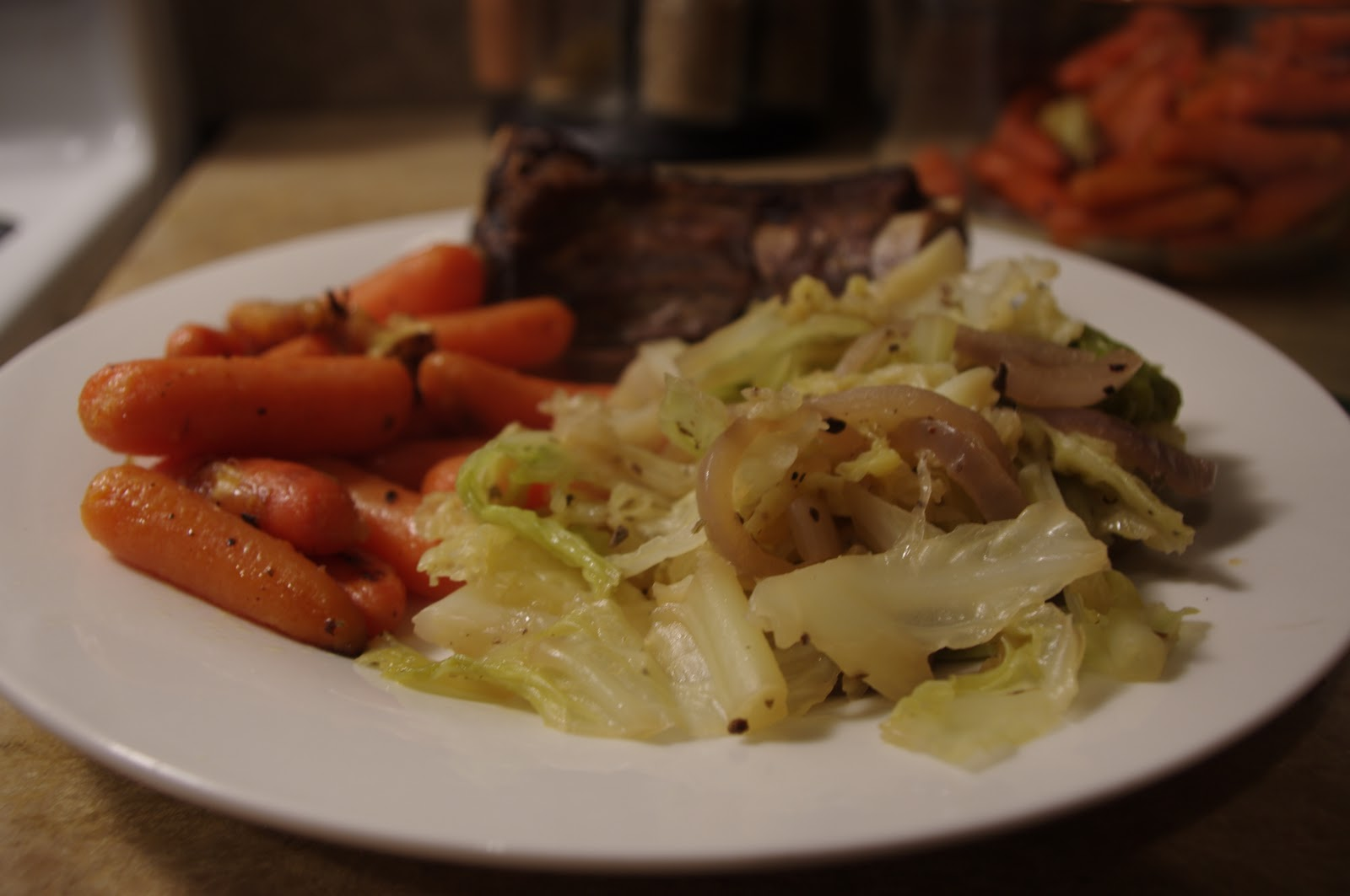 Sauteed Cabbage And Glazed carrots | Cook Gordon Ramsay