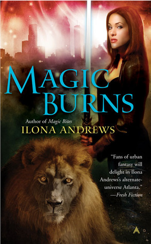 Magic Burns (Kate Daniels #2) by Ilona Andrews