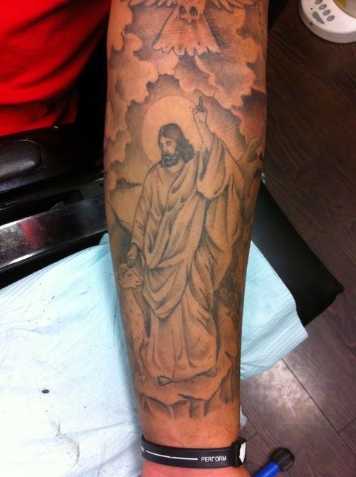 Forearm Cloud Tattoos For Men