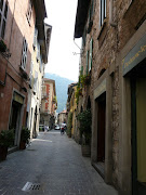 Old street in Como