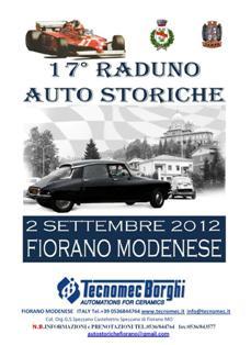 17° Raduno Auto Storiche Fiorano