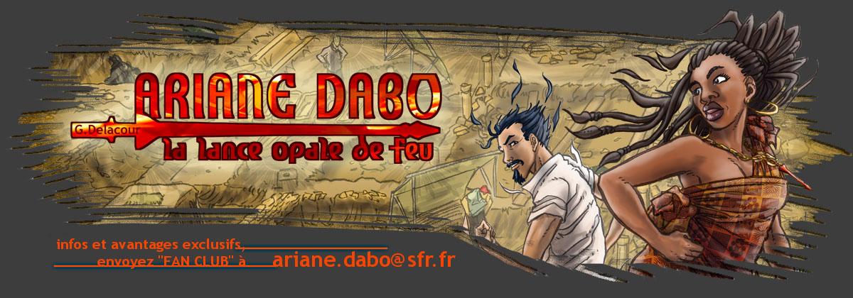 Ariane Dabo - la lance opale de feu