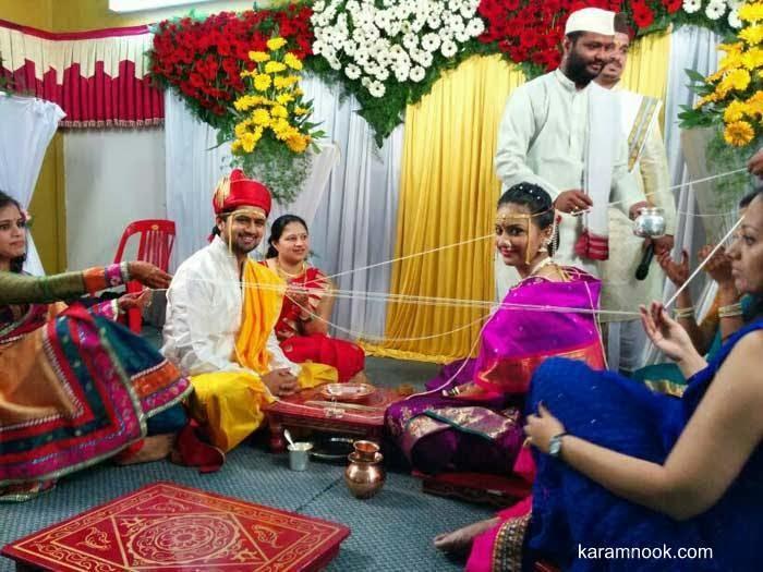 Tejashri Pradhan -Shashank Ketkar Ties Knot on 8th February 2014