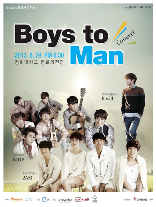 K.Will, 2AM, BTOB