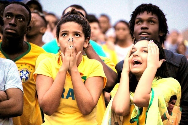Piala Dunia 2014: Brazil Malu Besar Dibelasah 1-7 Oleh Jerman