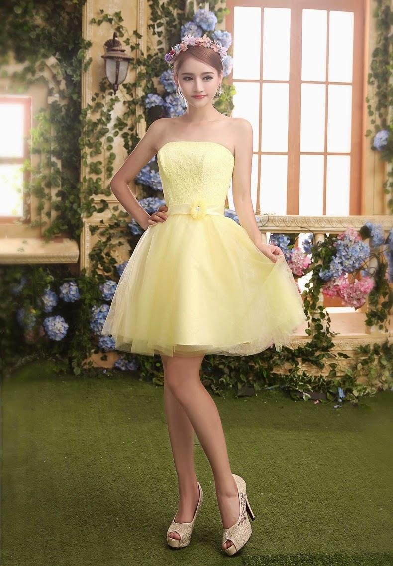 Buy midi dress online malaysia yellow