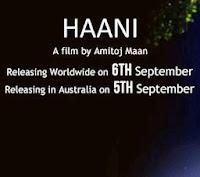 Punjabi Film Haani Release Date