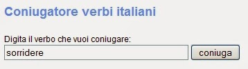 IL MIGLIOR SITO CONIUGATORE DI VERBI ITALIANI GRATIS ONLINE