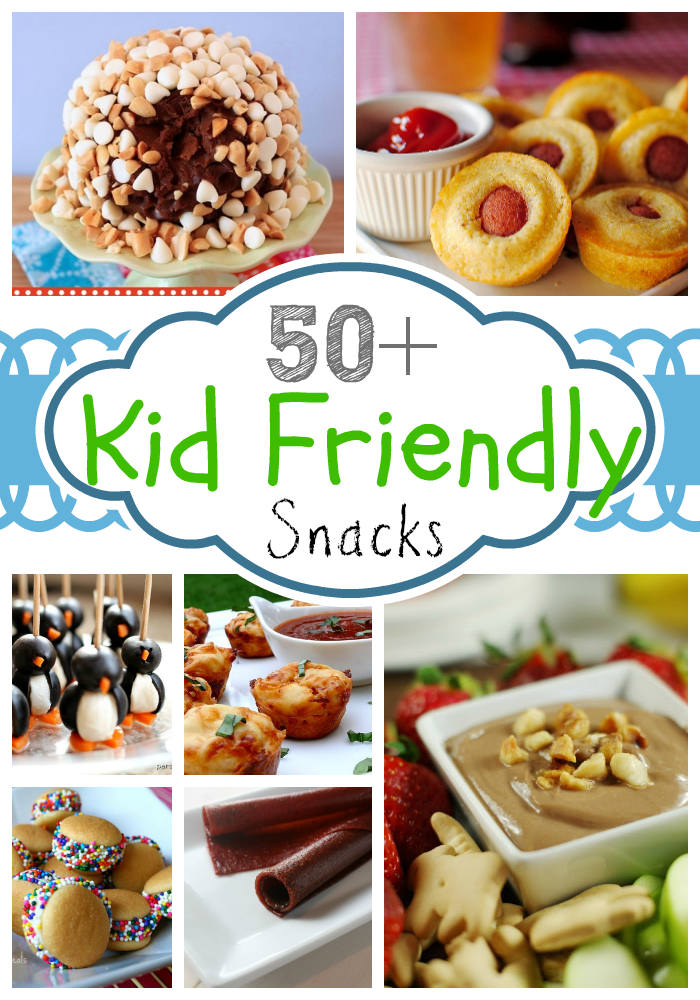 With this list of 50+ Kid-Friendly Snacks, your kids will never get bored of eating the same old thing! These easy snack recipes are perfect for after-school snacks, picnics, road trips, and more!