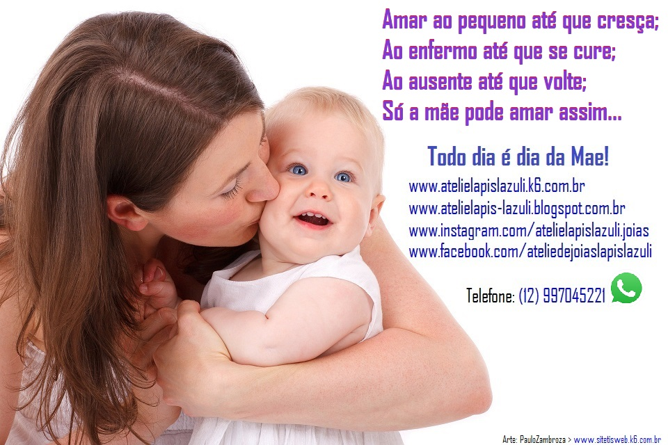 Maio, mês das Mamães no Atelie Lápis lazulli