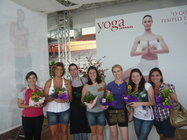 "Workshop de Ikebana Especial para Revista ""Yoga."""