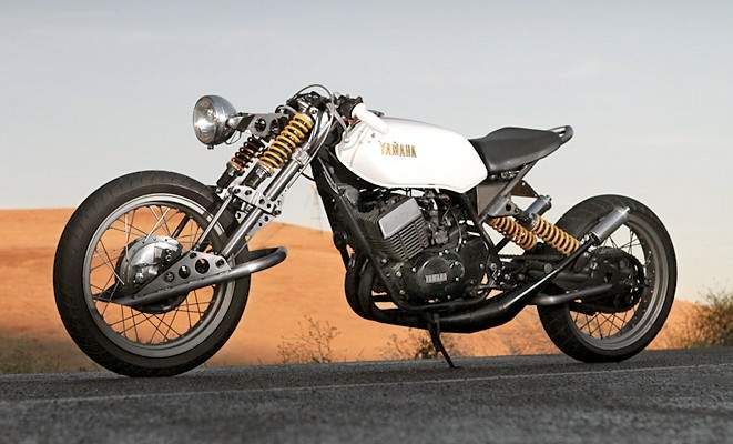 Custom Yamaha RD400   way2speed