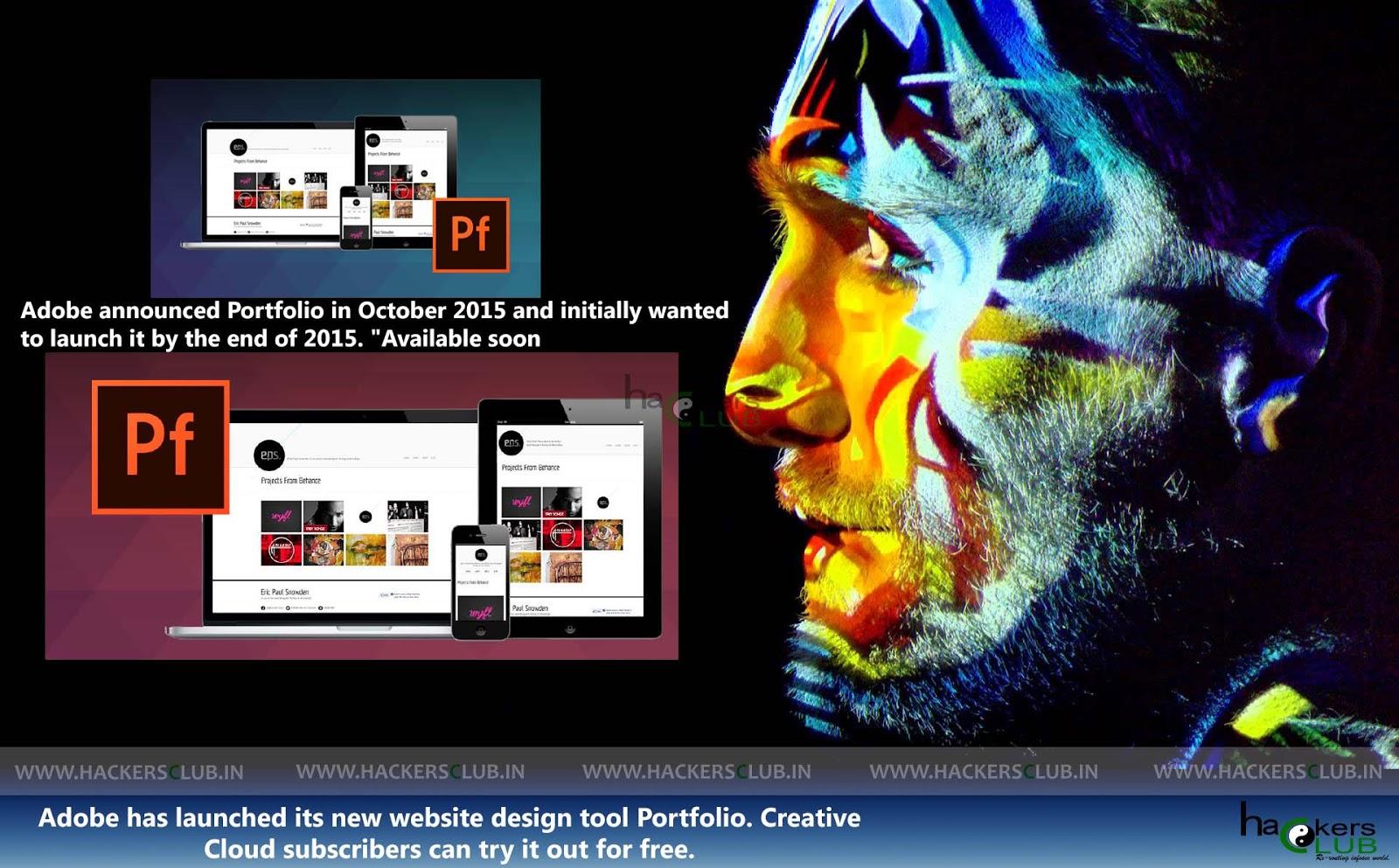 Adobe Portfolio Website Design Tool Now Available To Creative ...