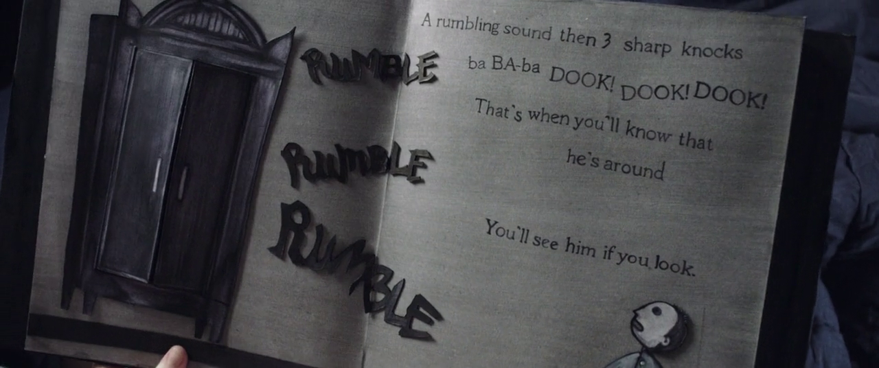 The Babadook Australian horror film 2014 book rumble ba-ba-ba dook