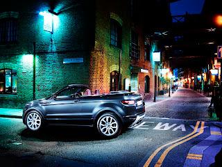 Range Rover Evoque Spyder Prototype
