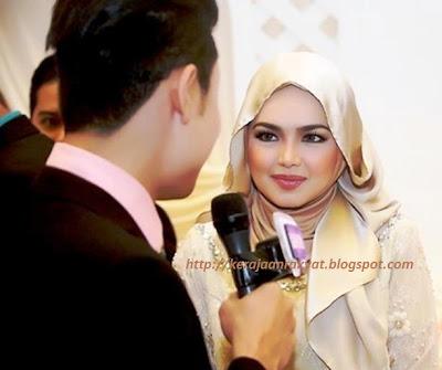 Siti Nurhaliza sudah berhijab penuh