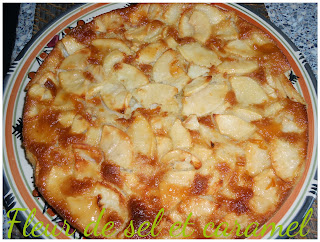 Gateau aux pommes et aux amandes