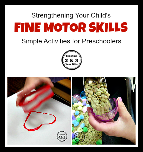 Fall preschool painting activity teaching 2 and 3 year olds for Fine motor skills activities for 2 3 year olds