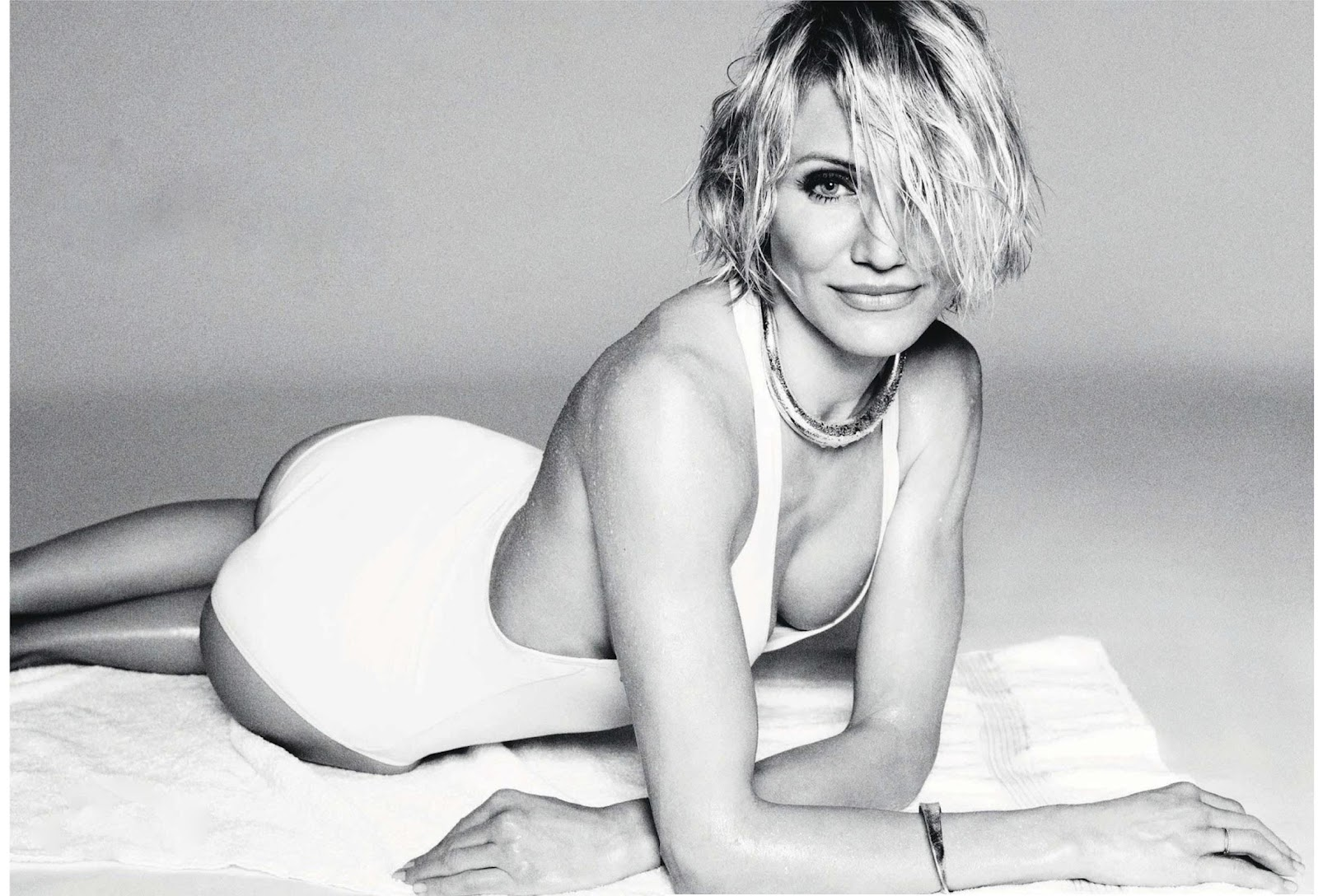 cameron diaz by tom munro