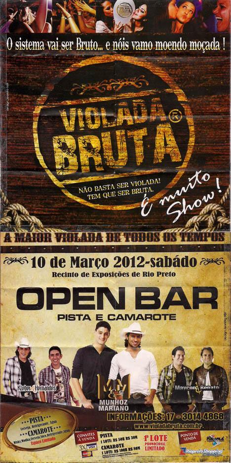 Violada Bruta - Villa Conte - 10/03/2012