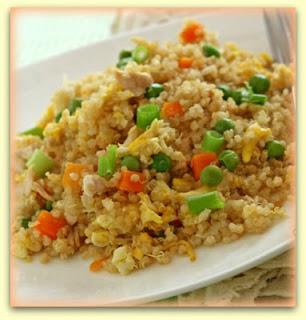 Frango de quinoa
