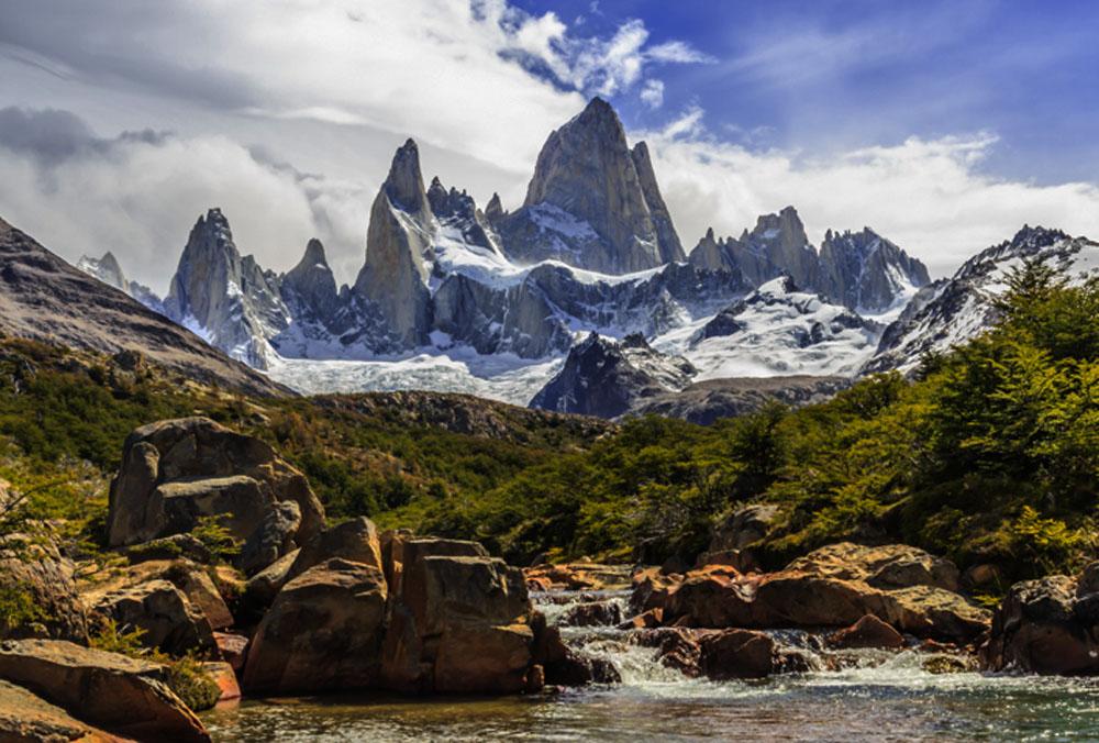 El Chalten Argentina  City pictures : Todas as trilhas de El Chaltén são bem sinalizadas e bem demarcadas ...