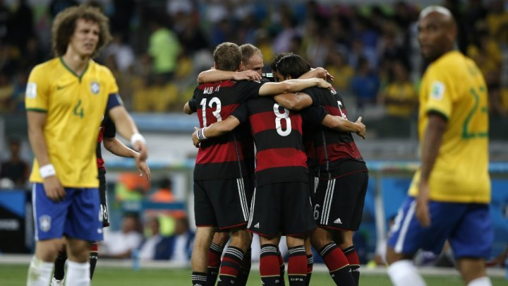 كأس العالم: ألمانيا تكتسح البرازيل 7-1 وتترشح للدور النهائي