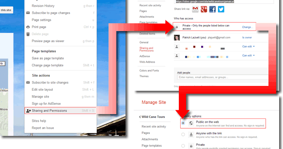 Digital Marketing Tips for Small Business: Manage Google Sites ...
