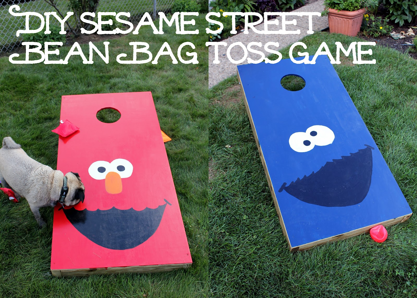Sesame Street Bean Bag Toss