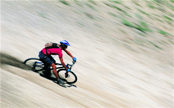 Biking Hilly Terrain Adevnture Sports Wallpaper