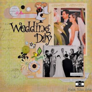 Wedding scrap