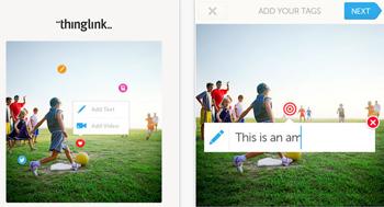 ThingLink ordena y edita las imágenes en tu iPhone
