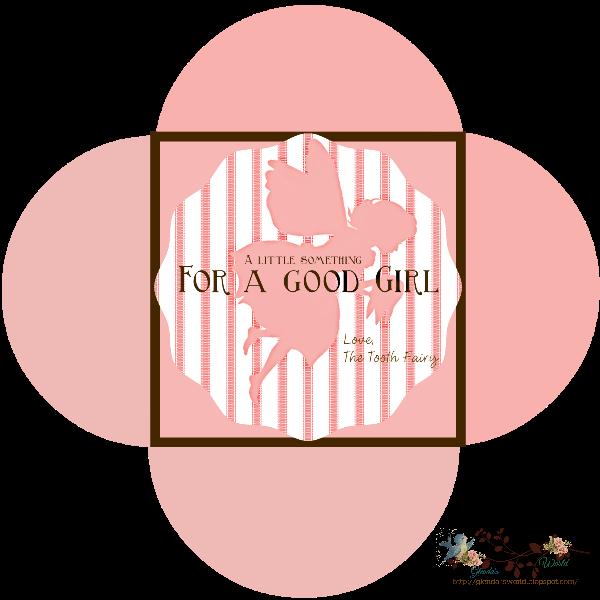 glenda's World : Tooth Fairy Envelopes