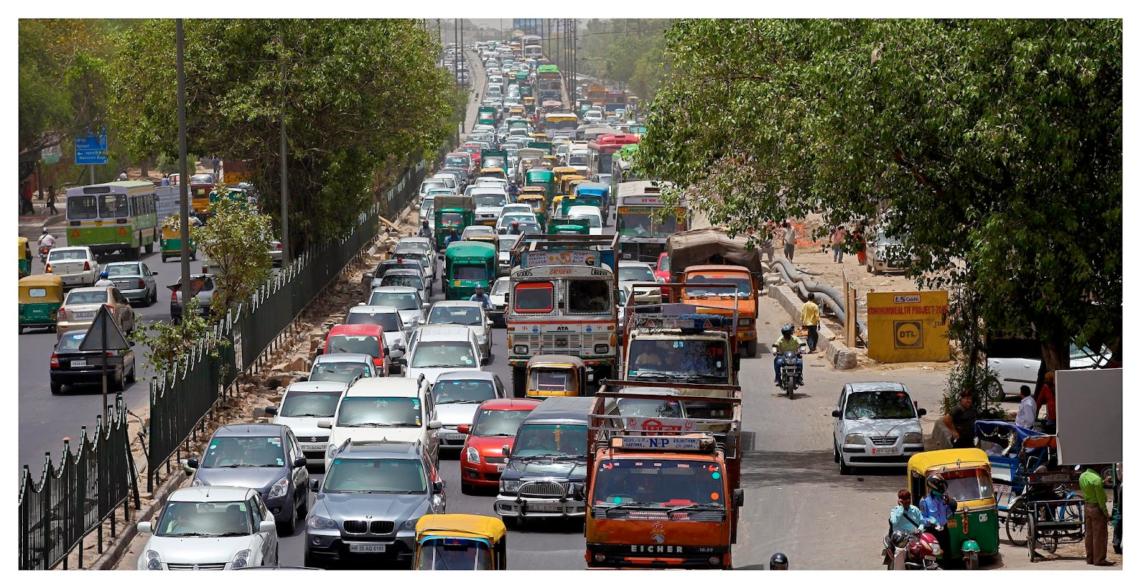 Vehicles on India