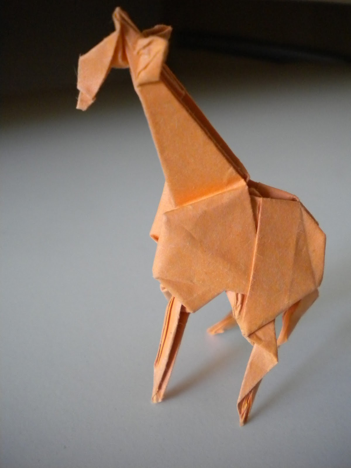 Curious Charisma Origami Giraffe Diagram This Is An Intermediate Fold It Requires Some Sinking But For The Most Part Instructions Are Clear