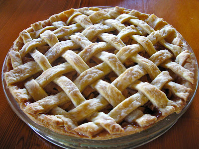 American Pie Apple tart vanilla ice cream Recipe in english