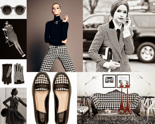 houndstooth, houndstooth collage