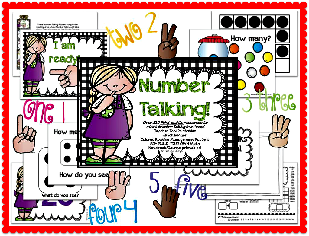 https://www.teacherspayteachers.com/Product/Number-Talking-Teacher-Resources-659681