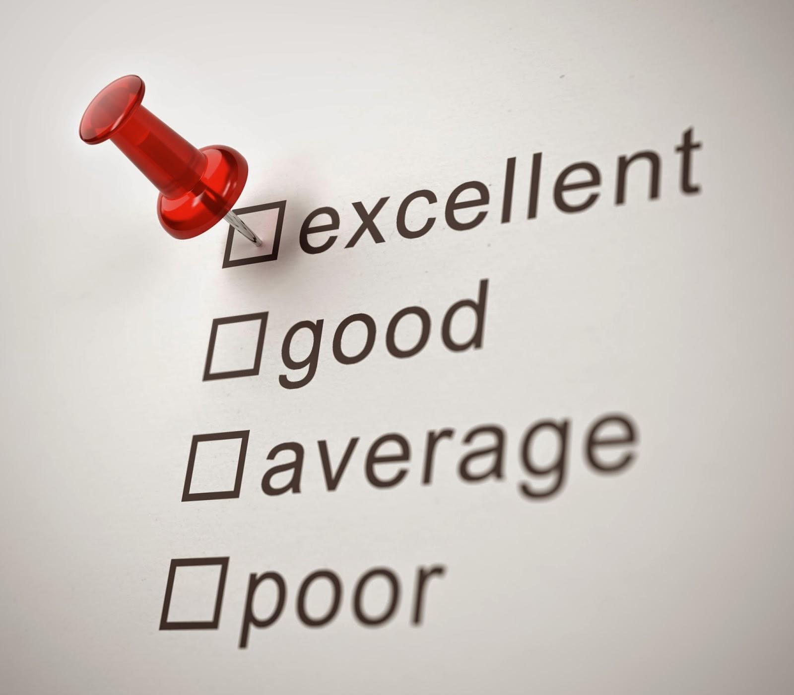 Company rating checklist