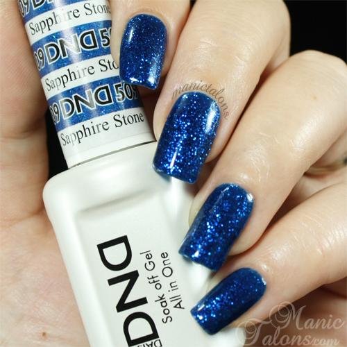 Daisy Duo Sapphire Stone Swatch