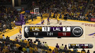 NBA 2K13 TNT 2013 Scoreboard Mod