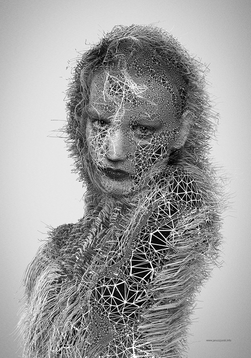03-Hairline-Janusz-Jurek-Drawings-of-Texture-Enveloping-and-Constructing-the-Body-www-designstack-co
