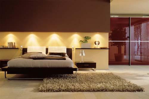 Dormitorio con dise o minimalista interior de lujo - Dormitorios de lujo ...
