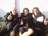 Panito, Luciani y Caprioglio