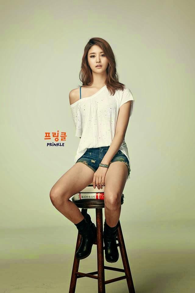 Junghwa EXID - Prinkle CF