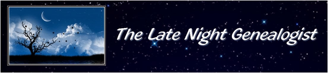 The Late Night Genealogist